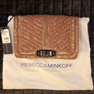 Rebecca Minkoff Velvet Chevron Crossbody Bag 💕